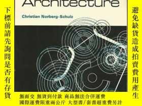 二手書博民逛書店Existence,罕見Space And ArchitectureY256260 Christian Nor