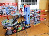 軌道車  大型多層豪華停車場套裝汽車軌道車庫男孩過家家模型玩具禮物Igo  coco衣巷