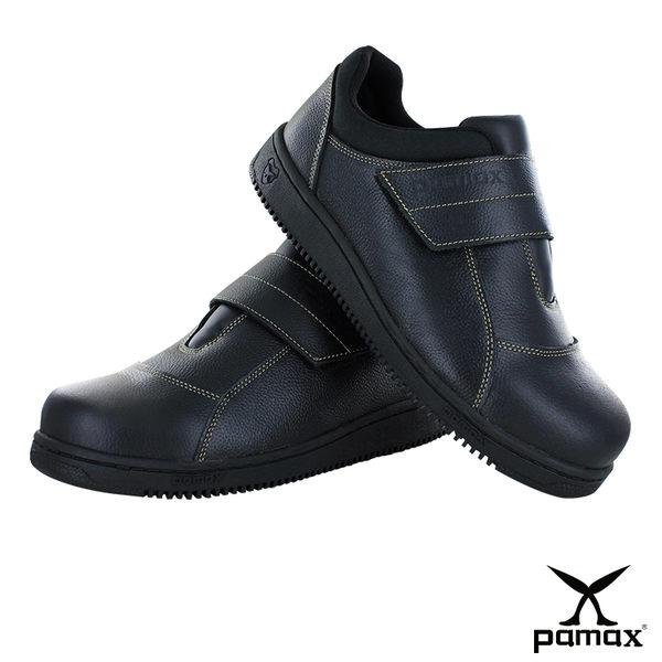 PAMAX 帕瑪斯【超彈力氣墊、高抓地力安全鞋】 廚師工作鞋★餐飲鞋、鋼頭鞋 ※ P08501H男女