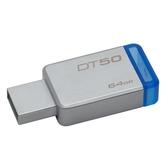 [富廉網]【Kingston】金士頓 DataTraveler 50 64G USB3.1 隨身碟 (DT50)