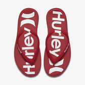 Hurley ONE & ONLY PRINTED SANDAL 人字拖 -男(紅)