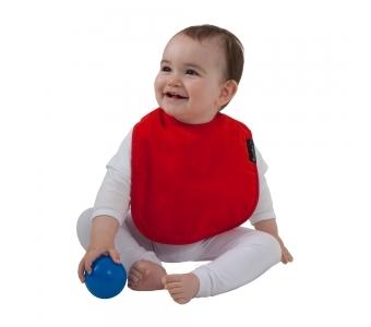 紐西蘭 Mum 2 Mum 機能型神奇口水巾圍兜-寶寶款-紅 吃飯衣 口水衣 防水衣