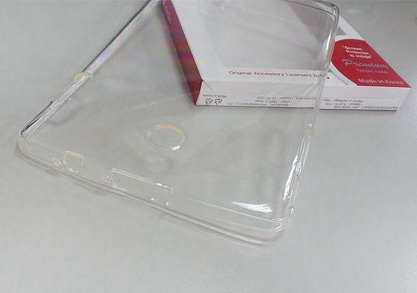 LG TABLE 2 T8(V498T)—8吋平板電腦專用螢幕保貼+透明保護套