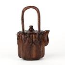 紅木工藝品 家居擺件風水擺件 鐵梨木茶壺南瓜裝飾木雕雕刻