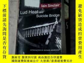 二手書博民逛書店lain罕見sinclair lud heat suicide