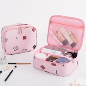 ins網紅化妝包小號便攜韓國簡約大容量多功能旅行少女洗漱收納盒