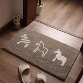 地毯地墊門墊進門衛浴臥室門口吸水防滑墊【步行者戶外生活館】