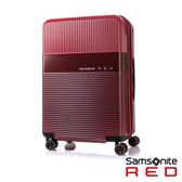 Samsonite RED  28吋ROBOII撞色個性TSA飛機輪行李箱(紅)