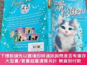 二手書博民逛書店A罕見Splash of Forever (Magic Kitten, No. 14)Y22224 Sue B