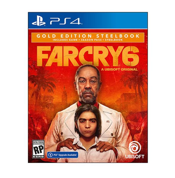 PS4 極地戰壕6 極地戰嚎 6 Farcry6 中文 黃金版 可升級到 PS5+自由民組合包【預購10/7】