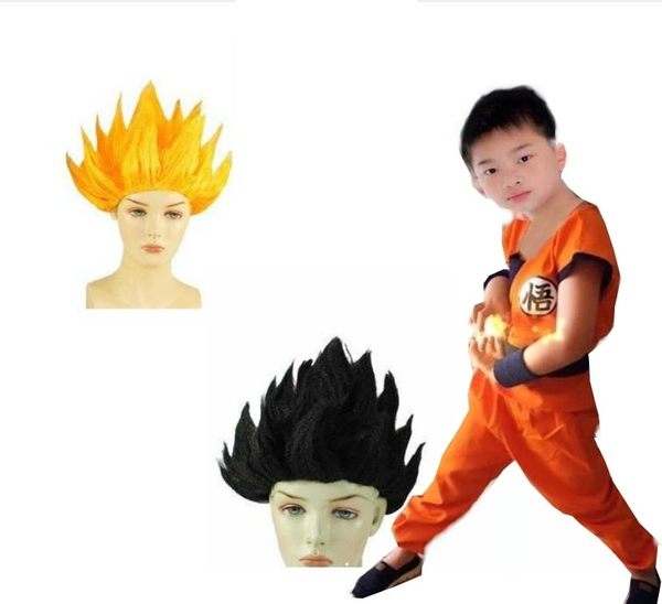 衣童趣♥造型 七龍珠 孫悟空 假髮 動漫金色 角色扮演 假髮 兩色可選 【D014】現貨
