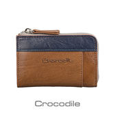 Crocodile Naturale 系列 Easy 輕巧L拉鍊零錢包 0103-08104-02