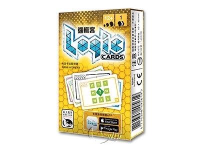 『高雄龐奇桌遊』 邏輯客 黃 Logic Cards Yellow 繁體中文版 正版桌上遊戲專賣店