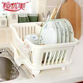 瀝水架 廚房碗筷收納架塑料碗櫃瀝水碗架收納碗櫃置物架瀝水籃碗碟架盤架