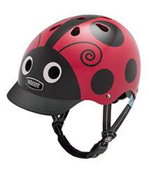 美國 Nutcase 彩繪安全帽-兒童系列-飛飛瓢蟲 (頭圍48-52公分)