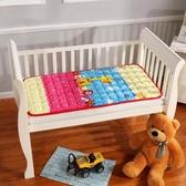 床墊 【可定制】法蘭絨寶寶幼兒園午睡毛毯墊被兒童床褥子水洗床墊【全館免運】