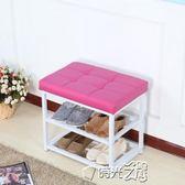 鞋架子簡易多層防塵多功能鞋柜換鞋凳經濟型家用家里人宿舍省空間igo時光之旅