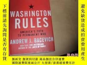 二手書博民逛書店Washington罕見Rules: America s Pat