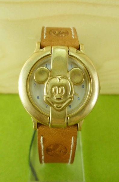 【震撼精品百貨】米奇/米妮_Micky Mouse~手錶-金蓋
