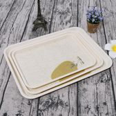 仿瓷密胺塑料長方形賓館酒店水杯茶杯托盤面包蛋糕盤子餐具【黑五好物節85折】