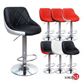 LOGIS邏爵- 愛麗絲腳圈高吧椅/吧檯椅/吧台椅/ 美容椅/休閒椅/旋轉椅 LOG-173HX