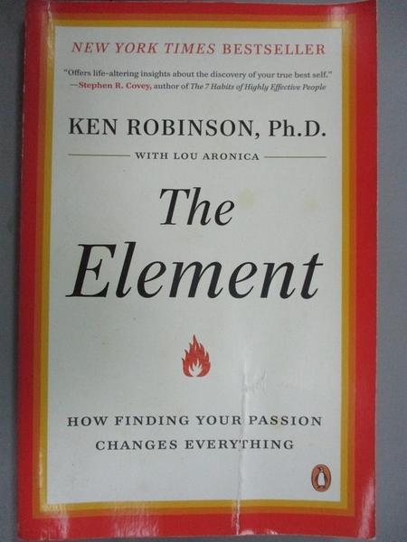 【書寶二手書T2/原文書_JPV】The Element: How Finding Your Passion…_Robi