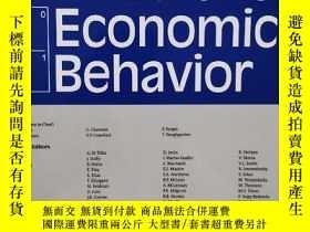 二手書博民逛書店games罕見and economic behavior 2020年1月 英文版Y42402