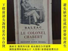 二手書博民逛書店LE罕見COLONEL CHABERT【法文原版】Y12800