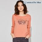 United by Blue 女休閒圓領長袖上衣 201-092 To The Prairies / 城市綠洲 (有機棉、環保、長袖T、美國品牌)