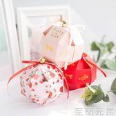歐式幸福之鈴糖盒100只免郵裝 結婚玲瓏球喜糖盒子    至簡元素
