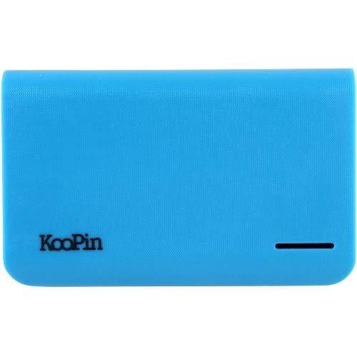 KooPin 立體格紋行動電源 通過BSMI認證 台灣製 K2-10400◆贈送!黃色小鴨耳機塞◆