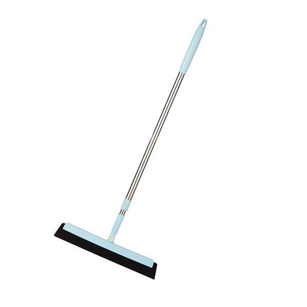 不鏽鋼伸縮魔法掃把 180度旋轉不黏毛髮神奇掃帚 玻璃刮水器拖把刮刀【ZD0501】《約翰家庭百貨