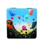 【收藏天地】台灣紀念品*雙面隨身鏡-平溪放天燈∕小物 送禮 文創 風景 觀光  禮品