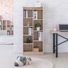 木質 九格櫃 置物櫃 書櫃 收納櫃 置物架 屏風 組合櫃【N0113】萊斯九格櫃-淺橡木色 完美主義 AC