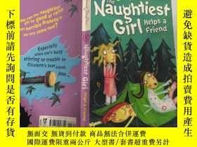 二手書博民逛書店The罕見Naughtiest Girls Helps a Friend :最淘氣的女孩幫助朋友Y200392