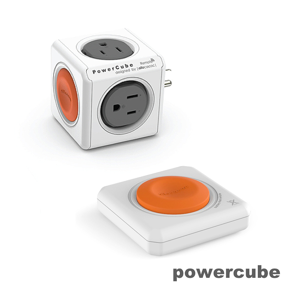 瘋搶699|荷蘭PowerCube 擴充插座-遙控|自動斷電保護 插座不打架 檢驗合格 原廠貨