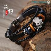 復古手鍊韓國情侶多層手鐲手環