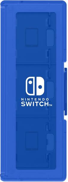 NS HORI 卡匝盒 6入+2 藍色
