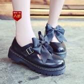小皮鞋娃娃鞋日繫學院風制服鞋cos女圓頭洛麗塔鏤空小皮鞋蝴 凱斯盾