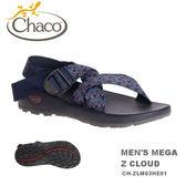 【速捷戶外】美國Chaco  MEGA Z CLOUD 越野紓壓運動涼鞋 男款CH-ZLM03HE01 -標準(藍色艦隊)