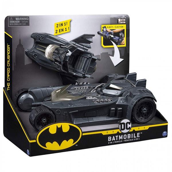 《 DC Universe 》BATMAN蝙蝠俠-2合一豪華蝙蝠戰車 / JOYBUS玩具百貨