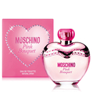 (盒損品-無封膜及中標) MOSCHINO Pink Bouquet 粉紅女性淡香水 50ml【娜娜香水美妝】
