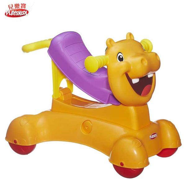 PLAYSKOOL兒樂寶-河馬三合一學步車遊戲組