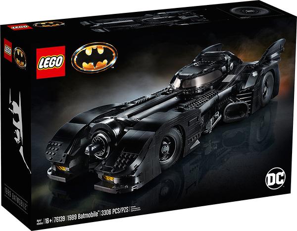 樂高積木 LEGO《 LT76139 》SUPER HEROES 超級英雄系列 - 1989 蝙蝠車