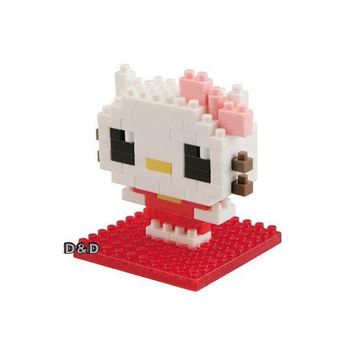 《 Nano Block 迷你積木 》【 HELLO KITTY 系列 】 NBCC - 010 HELLO KITTY ╭★ JOYBUS玩具百貨