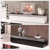 【水晶晶家具/傢俱首選】JF0703-1湯瑪斯200cm白色黑雲龍石面三抽電視長櫃~~雙色可選