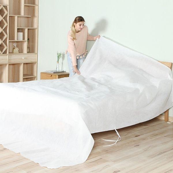 《簡單購》大型可水洗不織布居家物品家具防塵布罩