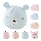 嬰兒胎帽 雙層嬰兒帽 新生兒帽子立體造型動物寶寶帽-JoyBaby