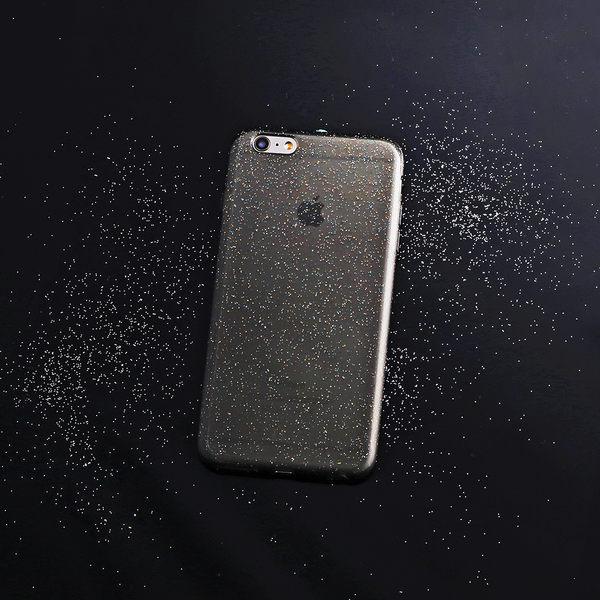 iPhone 6 Plus/6s Plus 手機殼 5.5吋【Crystalline II 晶透閃耀 - 黑瑪瑙】- WaKase
