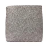 自然風格坐墊灰色55x55公分